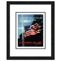 Pearl Harbor 22-Inch x 26-Inch Photo Framed Wall Art