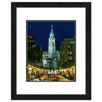 Philadelphia City View 22-Inch x 26-Inch Framed Wall Art