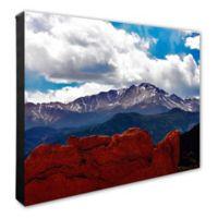Pike Peak Colorado 20-Inch x 24-Inch Canvas Wall Art