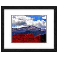 Pike Peak Colorado 22-Inch x 26-Inch Framed Wall Art