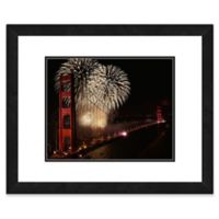 Golden Gate Bridge 1 22-Inch x 26-Inch Framed Wall Art
