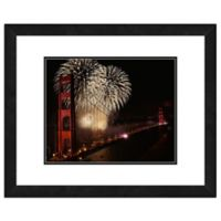 Golden Gate Bridge 1 18-Inch x 22-Inch Framed Wall Art