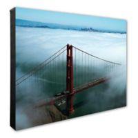 Golden Gate Bridge 2 16-Inch x 20-Inch Canvas Wall Art