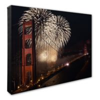 Golden Gate Bridge 1 16-Inch x 20-Inch Canvas Wall Art