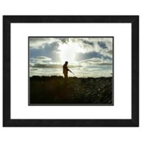 Hunter 18-Inch x 22-Inch Framed Matted Photo Wall Art