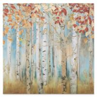 Birch Beauties I 39.5-Inch Square Canvas Wall Art