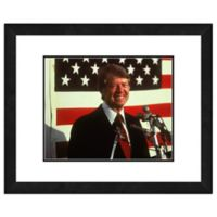 Photo File Jimmy Carter 22-Inch x 26-Inch Framed Photo Wall Art