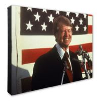 Photo File Jimmy Carter 20-Inch x 24-Inch Canvas Photo Wall Art