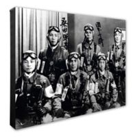 Photo File Kamikaze Pilots 20-Inch x 24-Inch Photo Canvas Wall Art