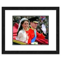 Princess Kate and William Wedding 22-Inch x 26-Inch Framed Wall Art