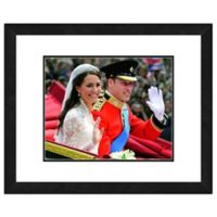 Princess Kate and William Wedding 18-Inch x 22-Inch Framed Wall Art