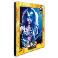 Photo File Kiss/Gene Simmons 20-Inch x 24-Inch Photo Canvas Wall Art