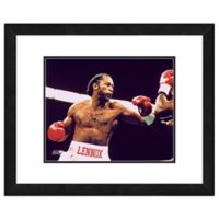 Lennox Lewis 18-Inch x 22-Inch Framed Photo Canvas Wall Art