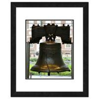Photo File Liberty Bell Philadelphia 18-Inch x 22-Inch Framed Photo Canvas Wall Art