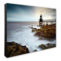 Lighthouse Photo 16-Inch x 20-Inch Canvas Wall Art