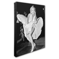 Marilyn Monroe Classic White Dress 20-Inch x 24-Inch Canvas Wall Art