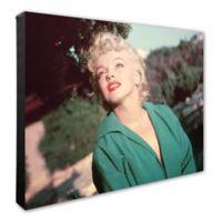 Marilyn Monroe Color Portrait 16-Inch x 20-Inch Canvas Wall Art