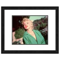 Marilyn Monroe Color Portrait 18-Inch x 22-Inch Framed Wall Art