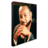 Martin Luther King Jr.20-Inch x 24-Inch Canvas Wall Art