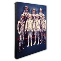 Photo File Mercury Astronauts 20-Inch x 24-Inch Photo Canvas Wall Art