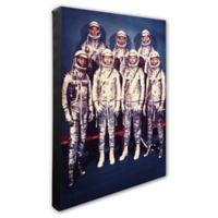 Photo File Mercury Astronauts 16-Inch x 20-Inch Photo Canvas Wall Art