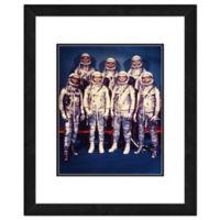Photo File Mercury Astronauts 22-Inch x 26-Inch Framed Photo Wall Art