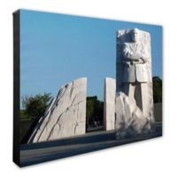 Photo File Martin Luther King Jr. Memorial 16-Inch x 20-Inch Photo Canvas Wall Art
