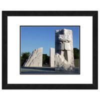 Photo File Martin Luther King Jr. Memorial 18-Inch x 22-Inch Framed Photo Wall Art