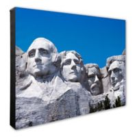 Photo File Mount Rushmore 16-Inch x 20-Inch Photo Canvas Wall Art
