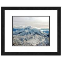 Photo File Mount St. Helens 18-Inch x 22-Inch Framed Photo Wall Art