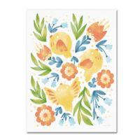 Trademark Fine Art Spring Fling II 27-Inch x 33-Inch Canvas Wall Art