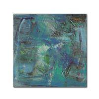 Shana Dominguez 'Gathering Objects I' 35-Inch x 35-Inch Canvas Wall Art