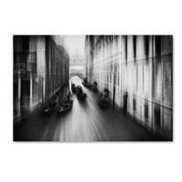 Trademark Fine Art Roswitha Schleicher Schwarz Bridge Of Sighs 3 27-Inch x 33-Inch Canvas Wall Art