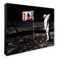 Apollo 11 Buzz Aldrin Man on the Moon 20-Inch x 24-Inch Canvas Wall Art