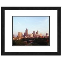 Atlanta Skyline 18-Inch x 22-Inch Framed Wall Art