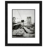 Brooklyn Bridge, New York 22-Inch x 26-Inch Framed Wall Art