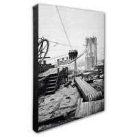 Brooklyn Bridge, New York 16-Inch x 20-Inch Photo Canvas Wall Art