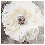 Blooming Softly I 20-Inch Square Fabric/Canvas Wall Art