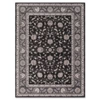 Kashan Mahal 5-Foot 3-Inch x 7-Foot 3-Inch Area Rug in Anthracite