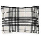 UGG® Dakota Plaid Cotton Flannel Standard Pillow Sham in Charcoal