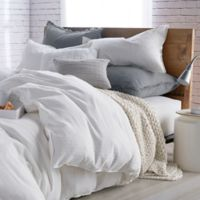 DKNYpure® Comfy Full/Queen Duvet Cover in White