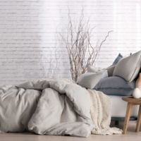 DKNYpure® Comfy Full/Queen Duvet Cover in Platinum