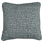 DKNYpure® Comfy Macramé Square Throw Pillow in Grey
