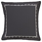Shalini European Pillow Sham in Charcoal