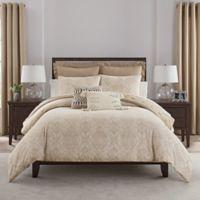 Bridge Street Siena Full/Queen Comforter Set in Straw