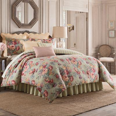 belgravia california king comforter set in green