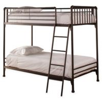 Brandi Twin Bunk Bed in Oiled Bronze