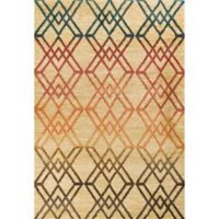 KAS Barcelona Moderne 7-Foot 10-Inch x 11-Foot 2-Inch Area Rug in Sand