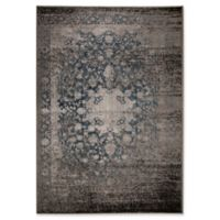 Ren-Wil Azure Medallion 5-Foot 2-Inch x 7-Foot 2-Inch Area Rug in Grey/Blue