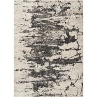 """Nourison Maxell 3'10"""" x 5'10"""" Machine Woven Area Rug in Iv/yGrey"""